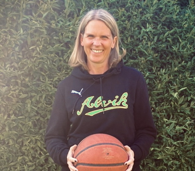 Hon blir Alvik Baskets nya klubbdirektör.